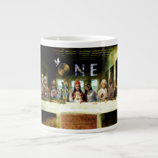 La taza de la tabla de cena de la familia tazas jumbo