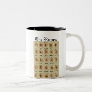 La taza de las runas