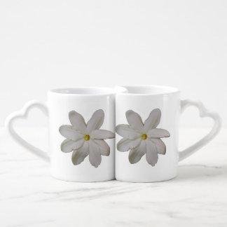 La taza de los amantes de Tahitian Gardena Tazas Para Enamorados