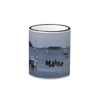 La taza de los barcos de Maine
