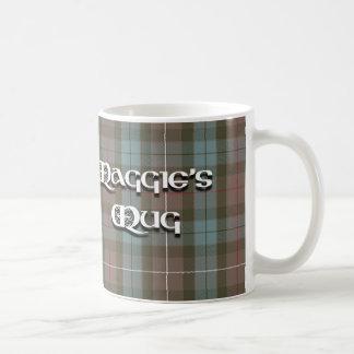 La taza de Maggie en tartán
