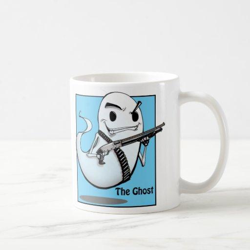 La taza de Molon Labe del fantasma