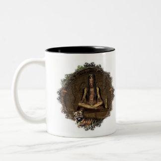 La taza de Namaste del adivino