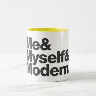 La taza de tres m/café