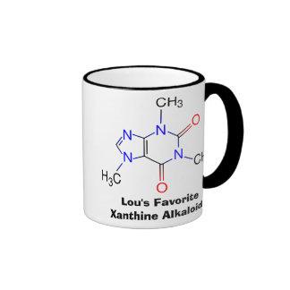 La taza del adicto a cafeína