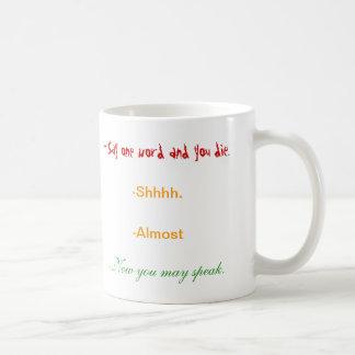 La taza del amante del café