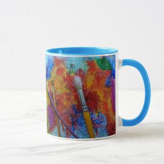 La taza del artista