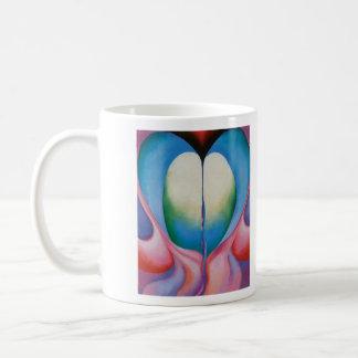 La taza del artista de Georgia O'Keefe