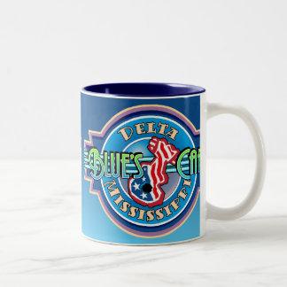 La taza del café de los azules