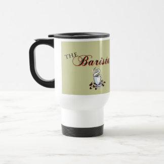 La taza del café del Barista