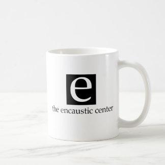 La taza del centro del Encaustic