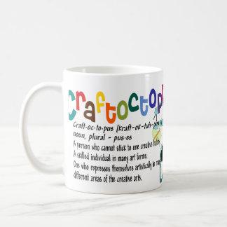 La taza del Crafter de Craftoctopus
