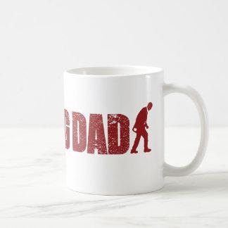 La taza del día de padre del PAPÁ QUE CAMINA