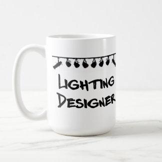 La taza del diseñador de iluminación