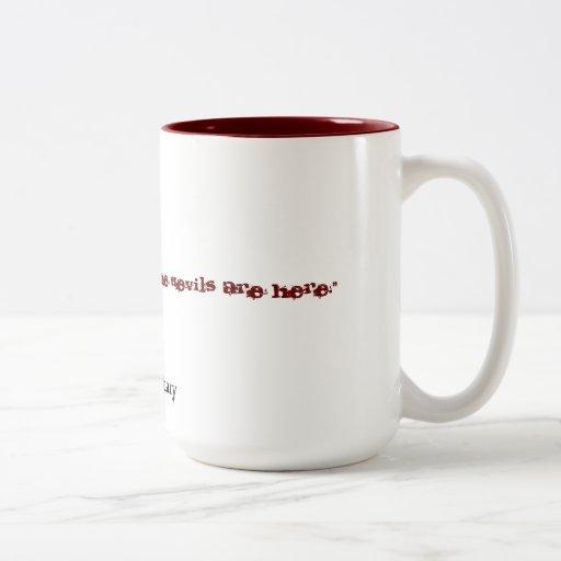 La taza del Dos-Tono de Unordinary