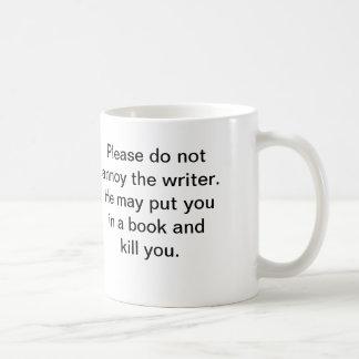 La taza del escritor (él)