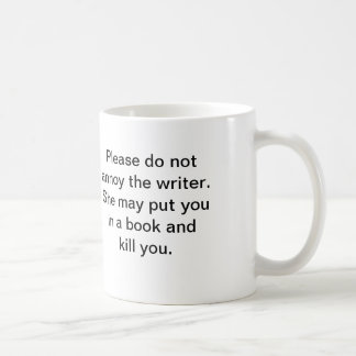 La taza del escritor (ella)