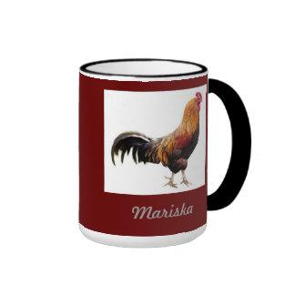 La taza del gallo se modifica para requisitos