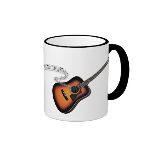La taza del guitarrista