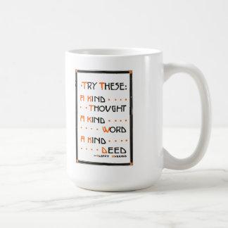 """La taza del lema de Roycroft, """"intenta éstos """""""