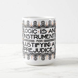 "La taza del lema de Roycroft, ""lógica es un"