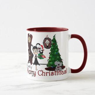 "La ""taza del navidad asustadizo"