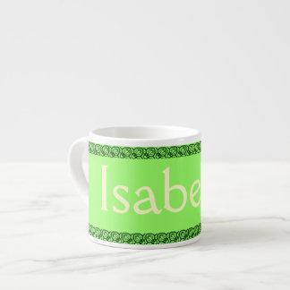 La taza del niño CONOCIDO personalizado Tazitas Espresso