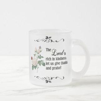 La taza del personalizado de señor Is Rich In Kind