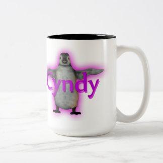 La taza del pingüino de Cyndy