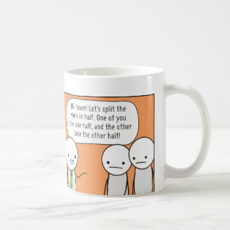 La taza del Procrastinator El Delegator