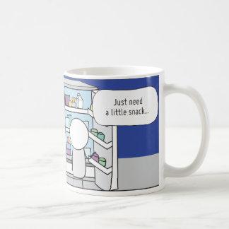 La taza del Procrastinator El Snacker