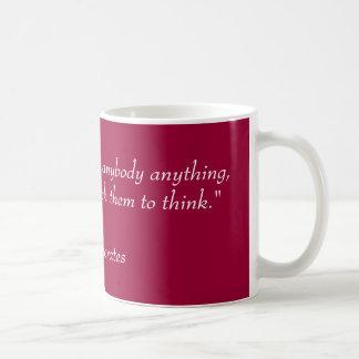 La taza del profesor de la filosofía