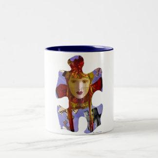 La taza del Puzzler