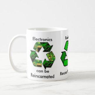 La taza del reciclador