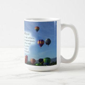 La taza del rezo del Balloonist