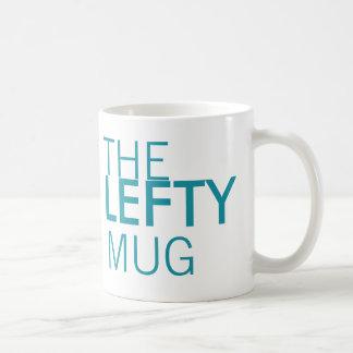 La taza del zurdo