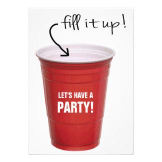 La taza divertida de los licores nos dejó tener un