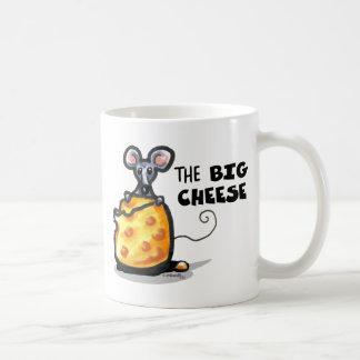 la taza divertida del QUESO GRANDE
