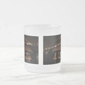 La taza helada del puente de Bayona