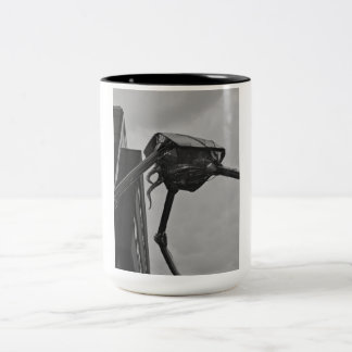 La taza marciana de la escultura