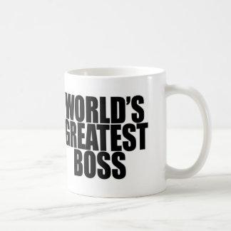 La taza más grande de Boss del mundo