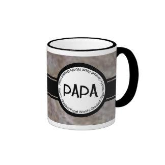 La taza más grande de la papá del mundo único y