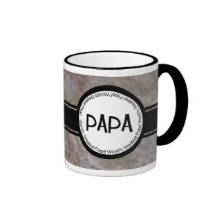 La taza más grande de la papá del mundo único y el