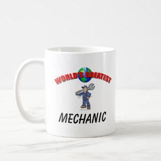 La taza más grande de los mundos del mecánico