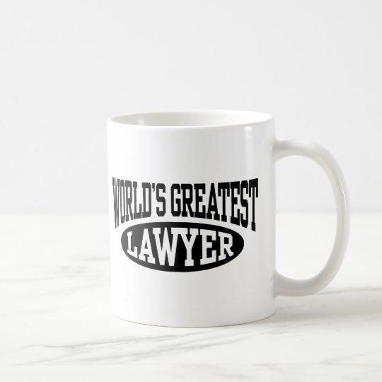 La taza más grande del abogado