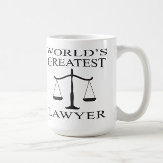 La taza más grande del abogado del mundo