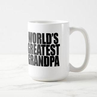 La taza más grande del abuelo del mundo