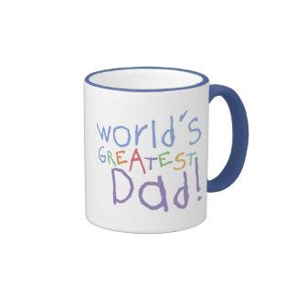 La taza más grande del campanero del papá de los n