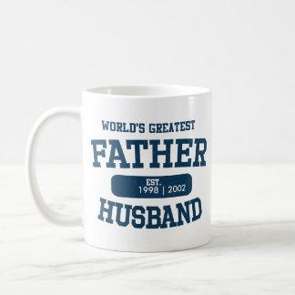 La taza más grande del marido del padre de la