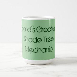La taza más grande del mecánico del árbol de la